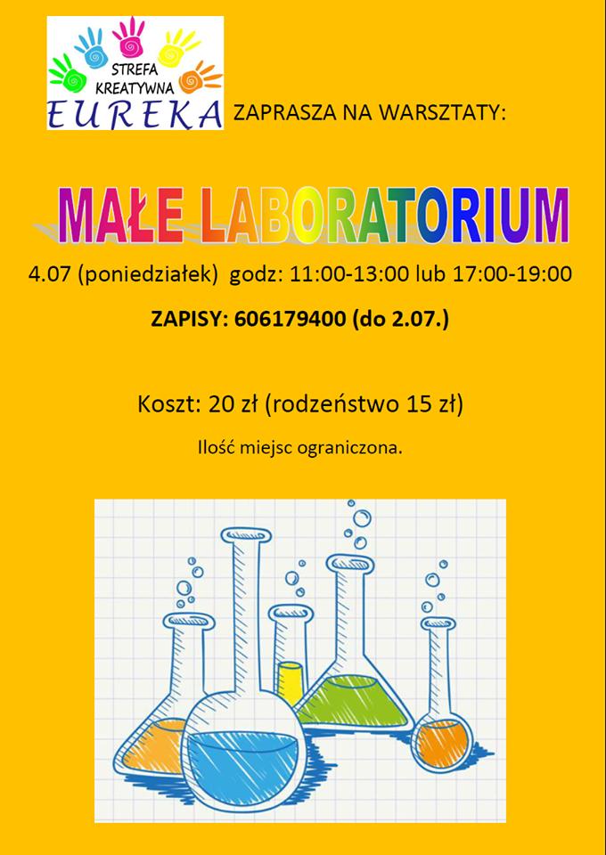 małe laboratorium